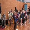 music-making practice with Coffs Primary kids